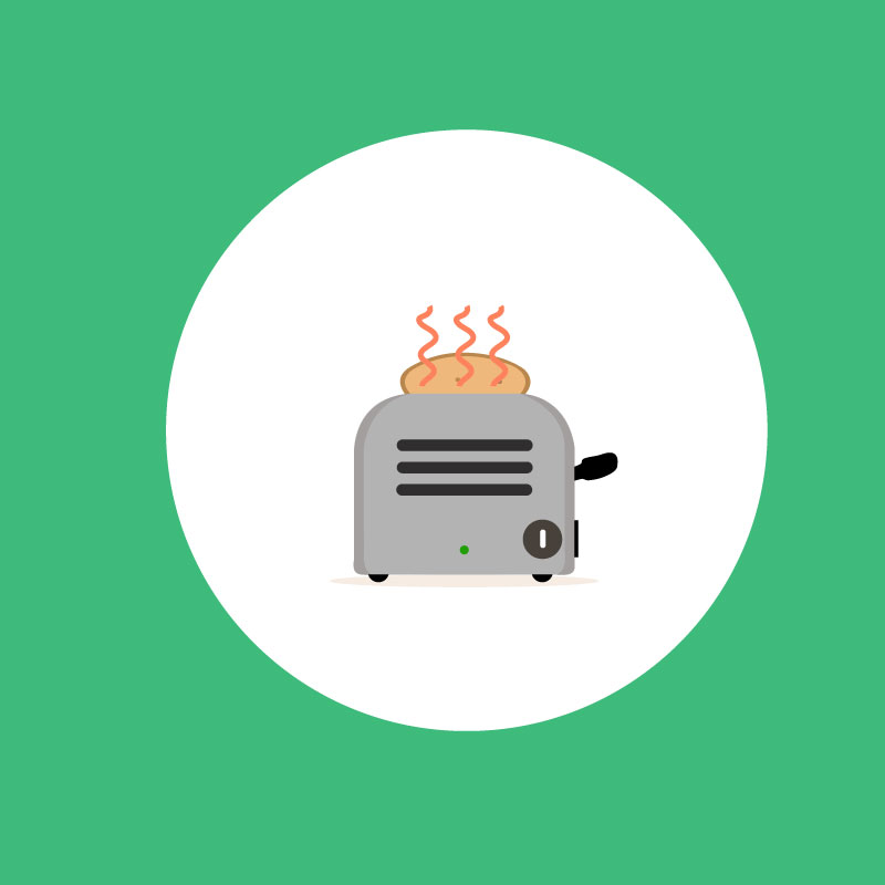 Animation SVG Toaster